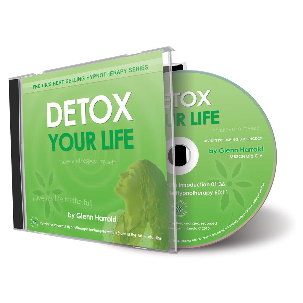 Detox Your Life - Hypnosis CD by Glenn Harrold