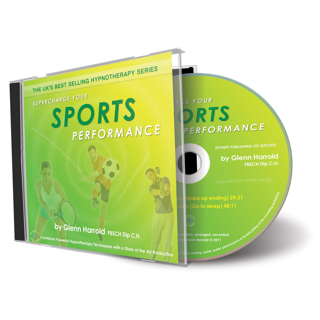 Supercharge Your Sports Performance - CD
