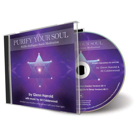 852Hz Solfeggio Meditation - Awaken Your Intuition - CD