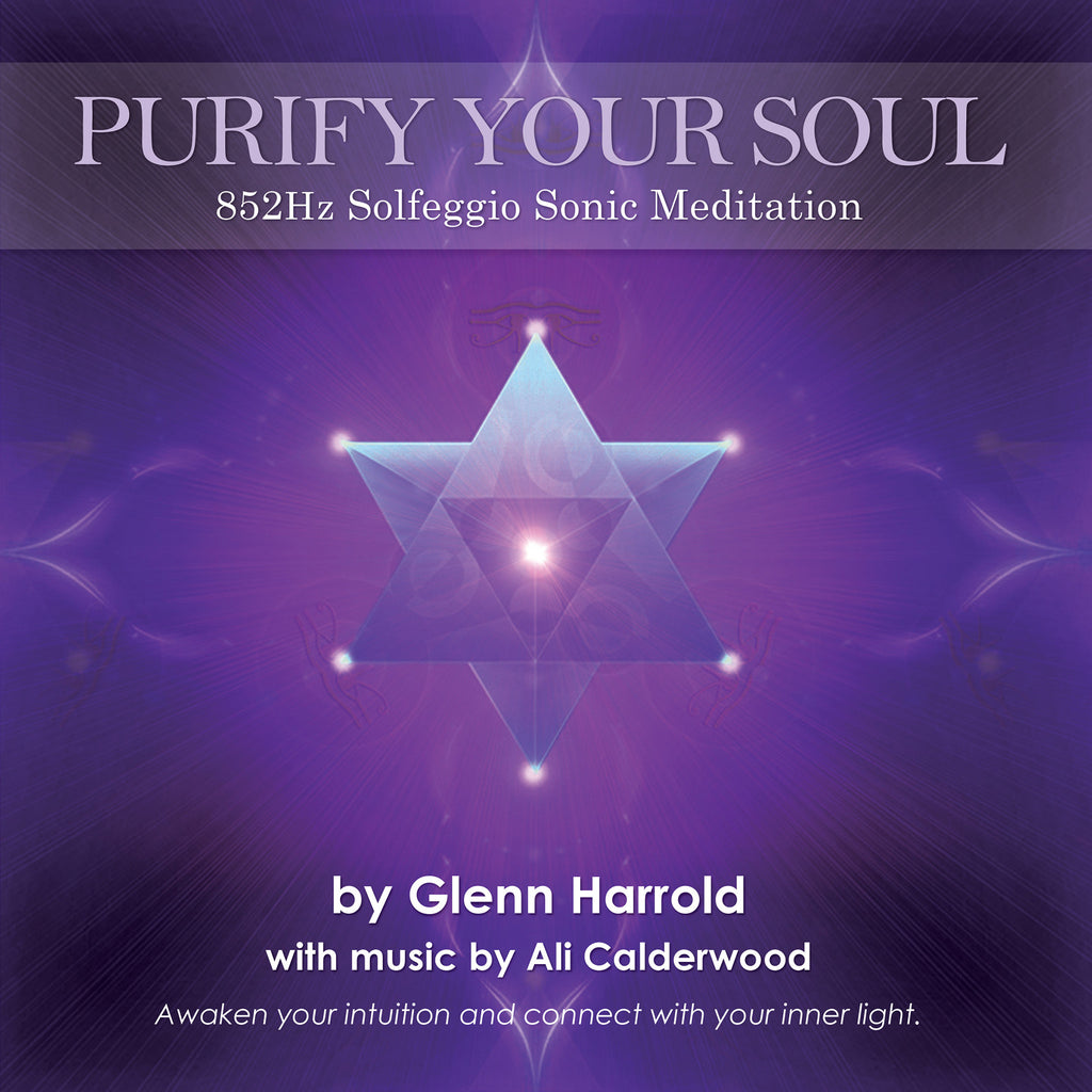 852Hz Solfeggio Meditation - Awaken Your Intuition - MP3 Download