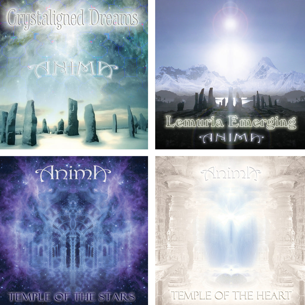 Anima Bundle - 4 Relaxation Music & Meditation MP3s