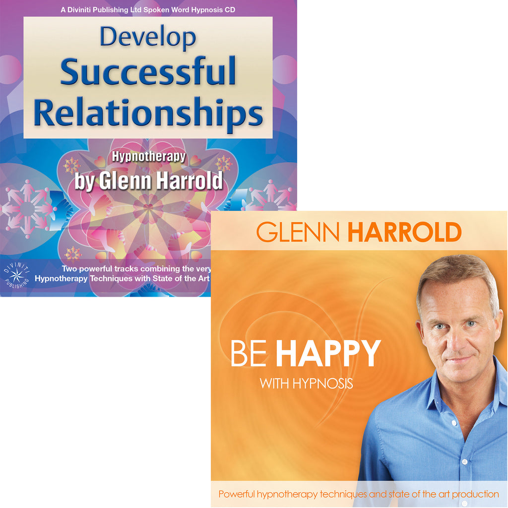 Be Happy & Develop Successful Relationships - 2 MP3s