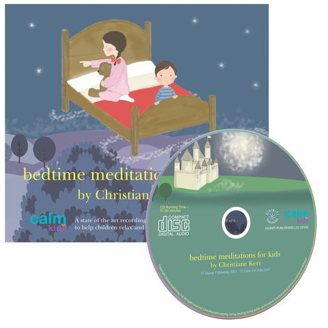Bedtime Meditations For Kids - CD