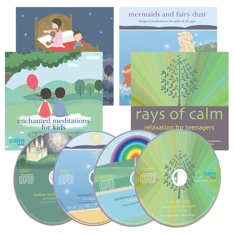Calm For Kids Children's Meditation Bundle by Christiane Kerr