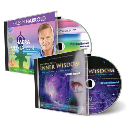 A Chakra Meditation & Meditation for Inner Wisdom - 2 CDs
