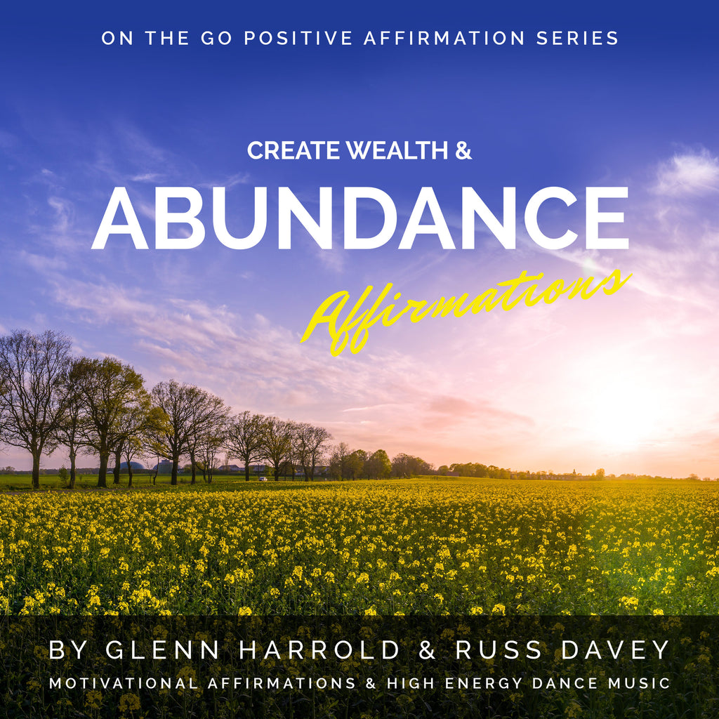 Create Wealth & Abundance Affirmations - MP3 Download