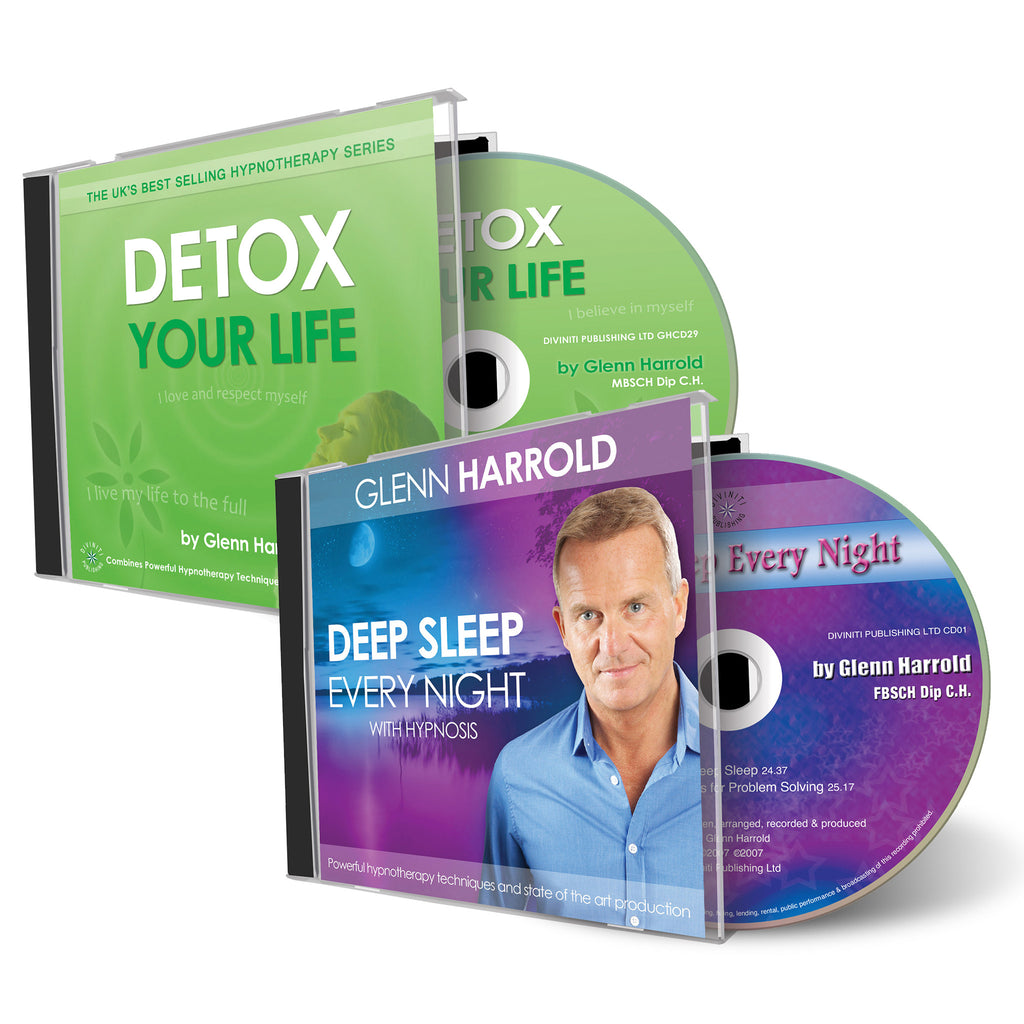 Deep Sleep Every Night & Detox Your Life CDs