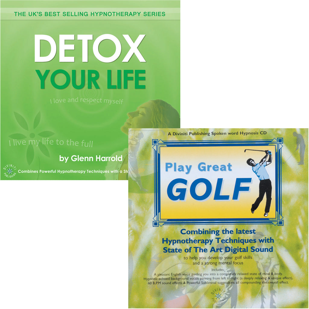 Detox Your Life & Play Great Golf - 2 MP3s