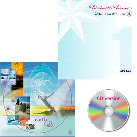 Earth & Sky and Diviniti Demos Vol. 1 - Bundle - 2 CDs