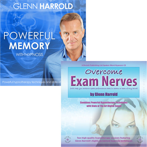 Develop A Powerful Memory & Overcome Exam Nerves MP3s