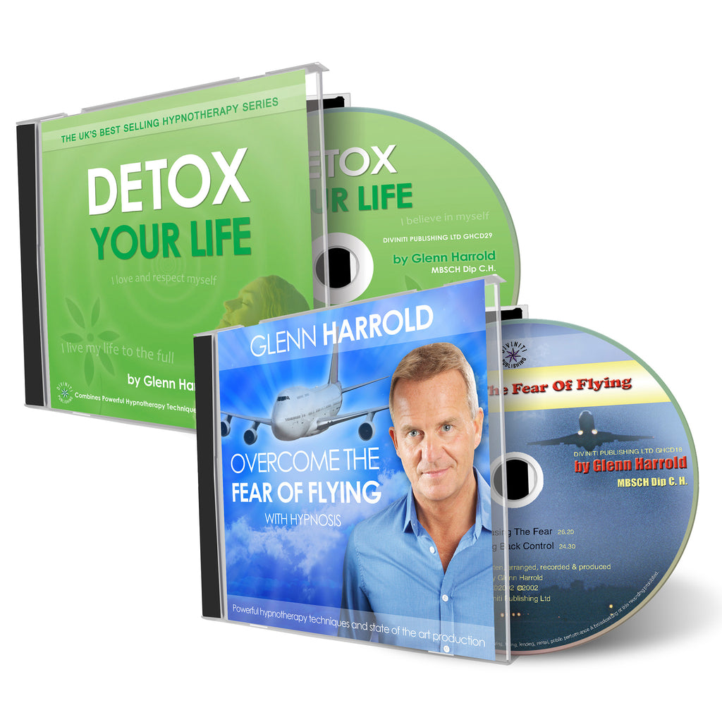 Detox Your Life & Overcome The Fear of Flying CDs