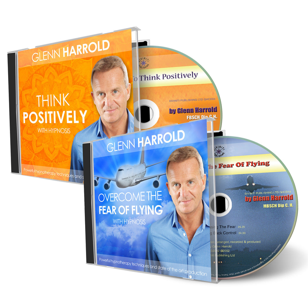 Overcome The Fear of Flying & Think Positively CDs