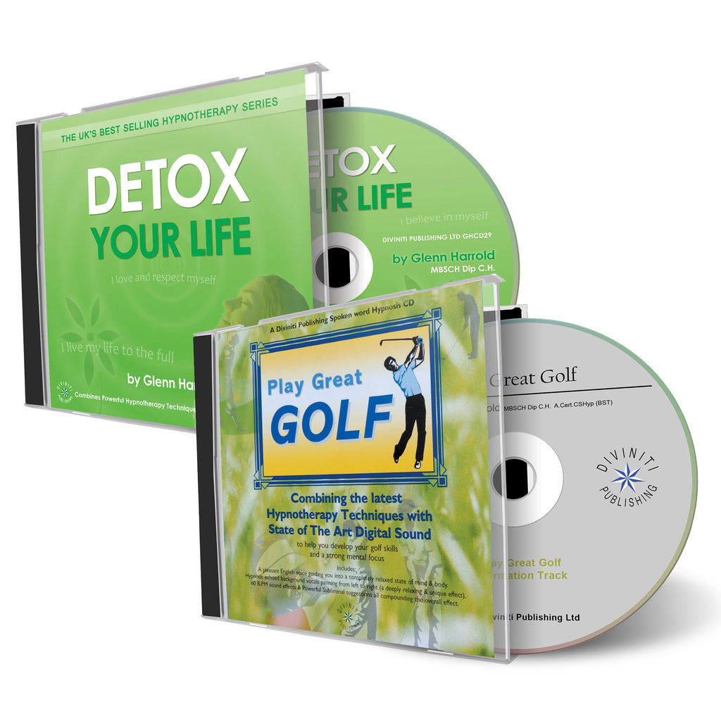 Detox Your Life & Play Great Golf CDs