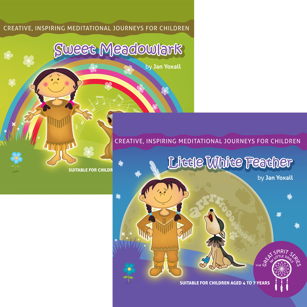 The Great Spirit Series Children's Meditations - 2 MP3s