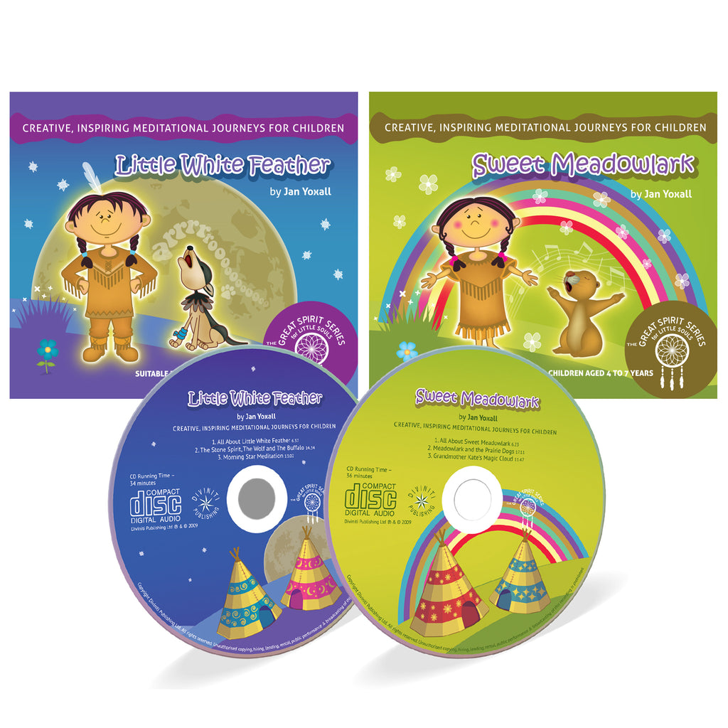 The Great Spirit Series Children's Meditations - 2 CDs