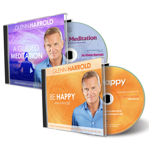 Guided Meditation & Be Happy Hypnosis CD