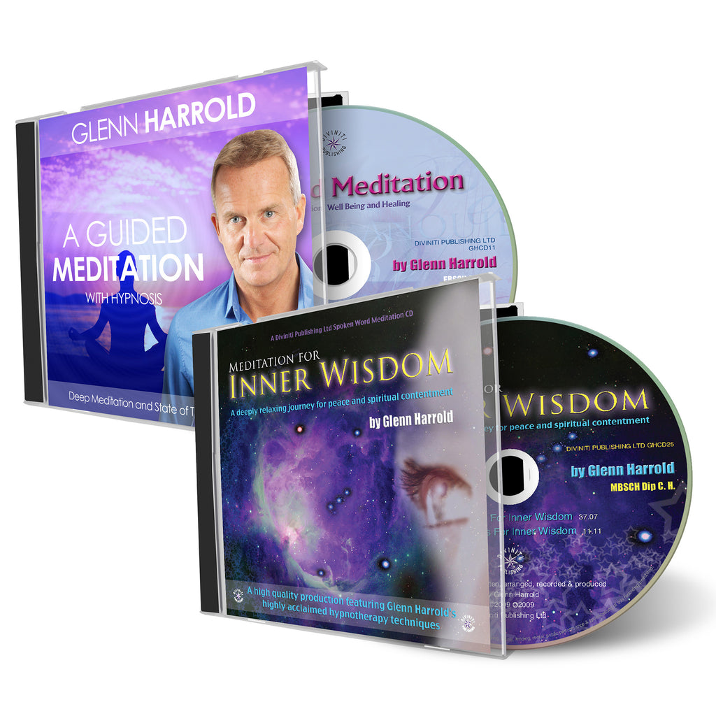 Guided Meditation & Meditation for Inner Wisdom CDs