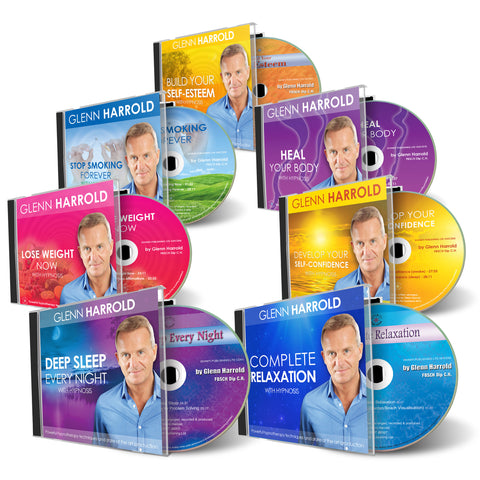 30 Hypnosis CDs (inc display box)
