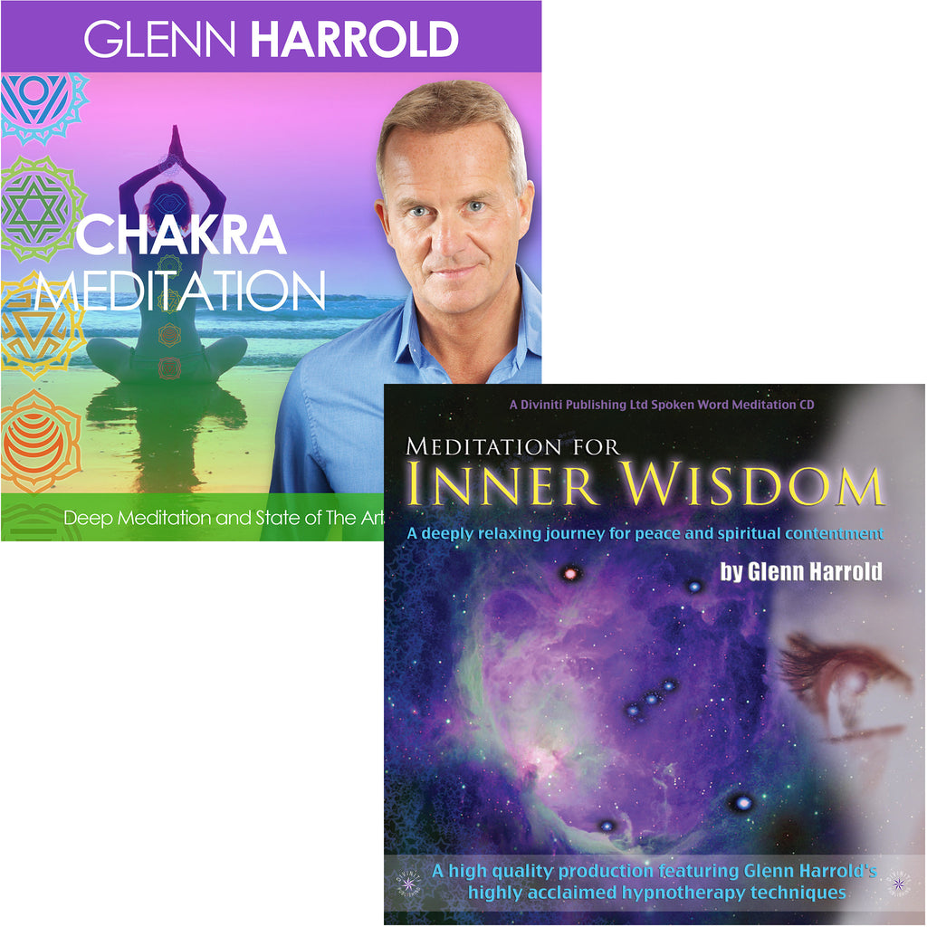 A Chakra Meditation & Meditation for Inner Wisdom - 2 MP3s