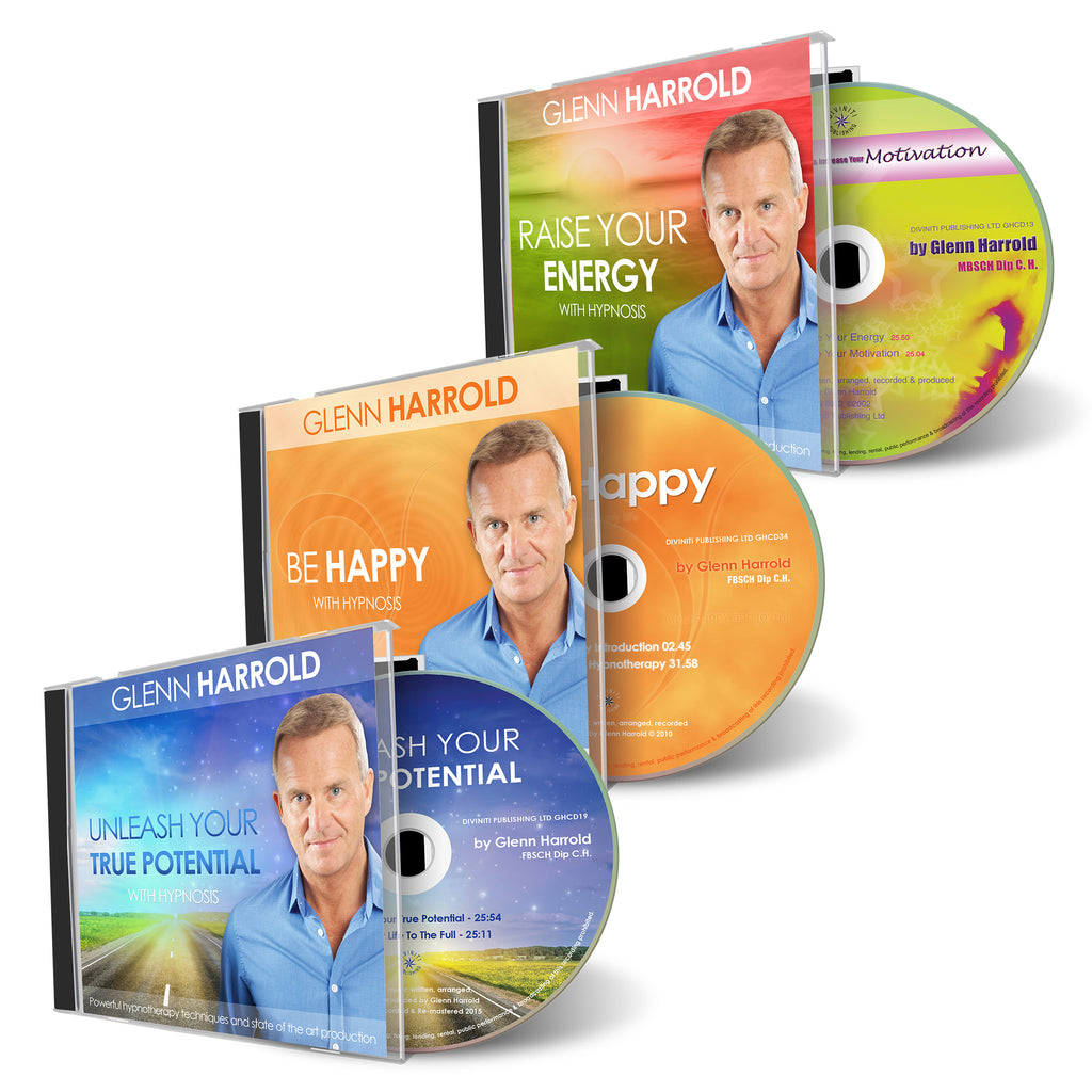 Motivation & Happiness Bundle - 3 CDs