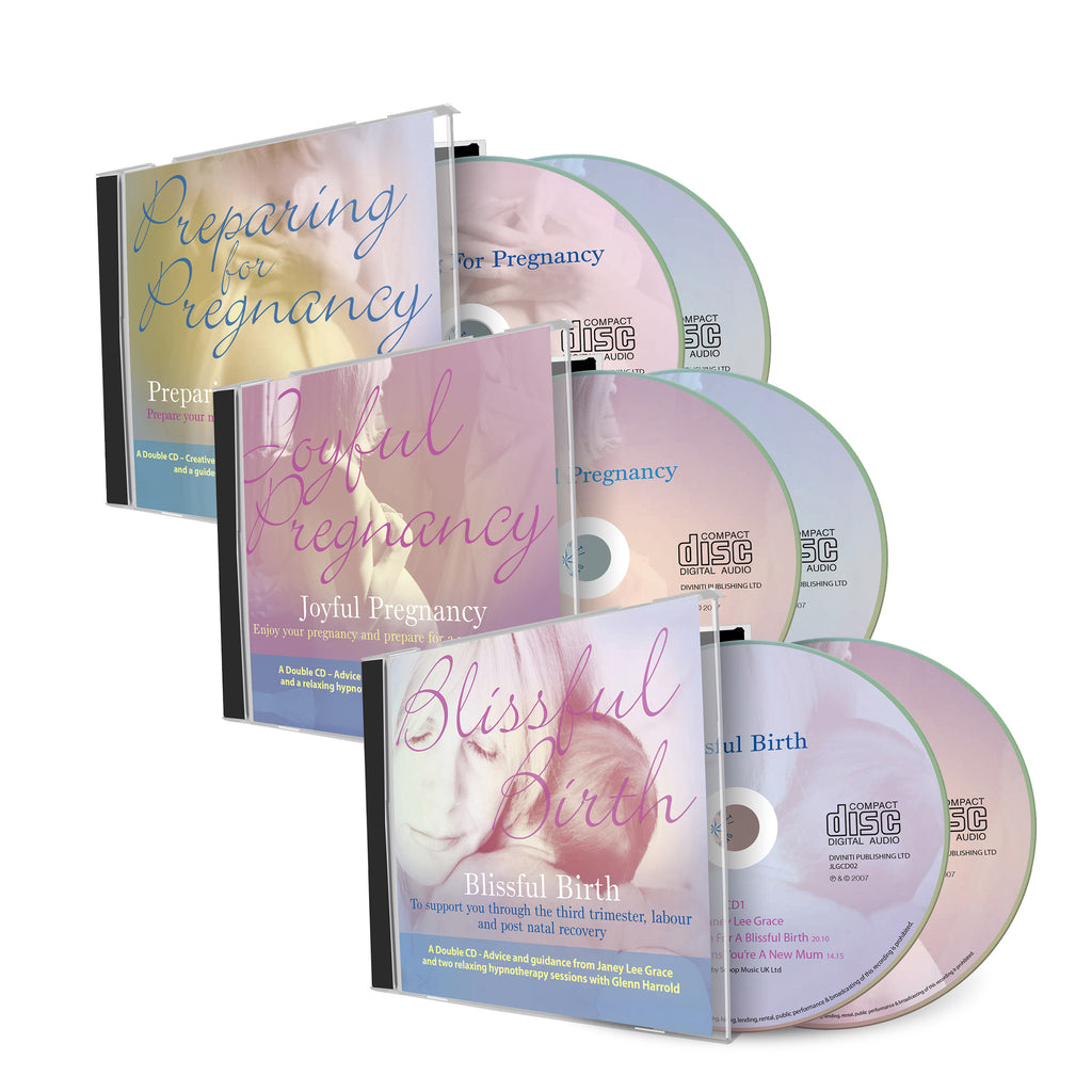 The Ultimate Support for Before, During & After Pregnancy - 3 Double CDs
