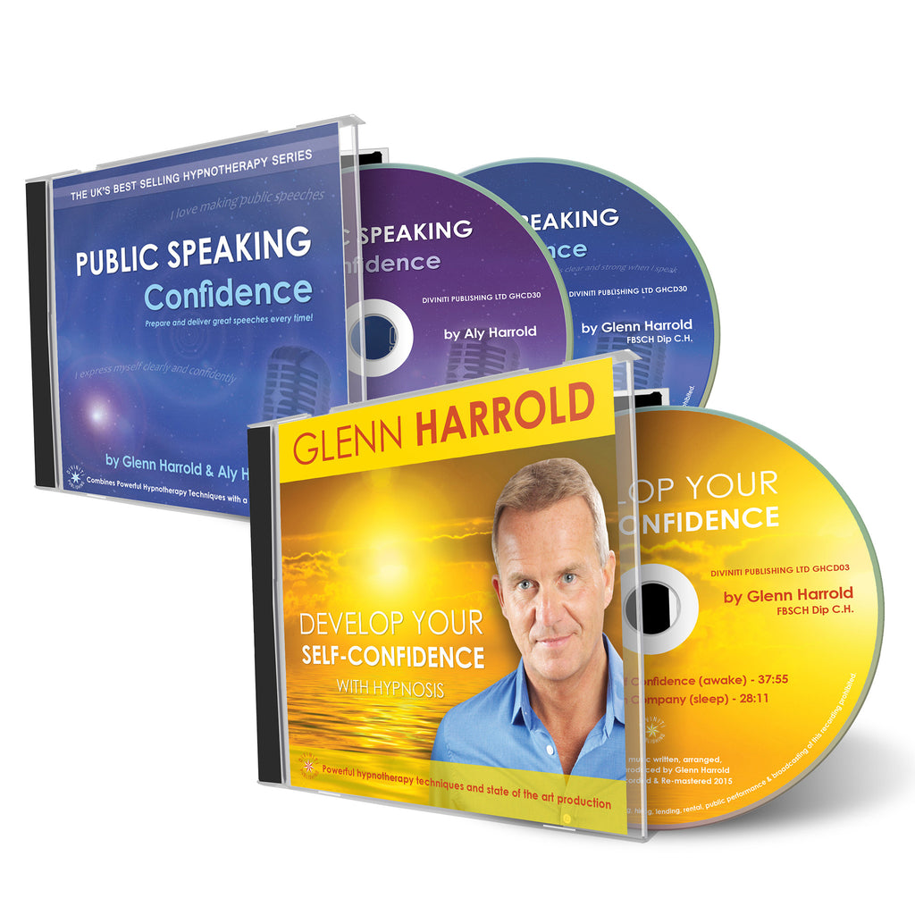 Public Speaking Confidence & Develop Your Self Confidence 2 CDs