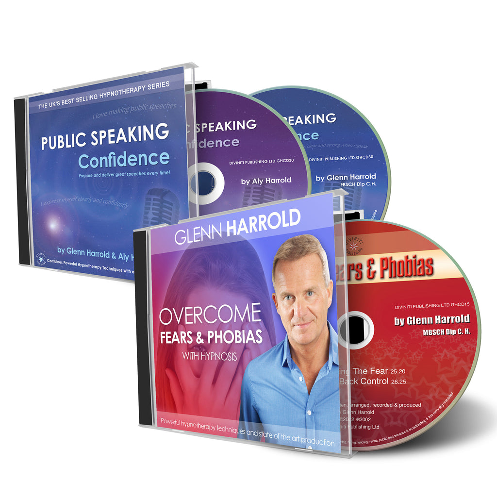 Public Speaking Confidence & Overcome Fears and Phobias CDs