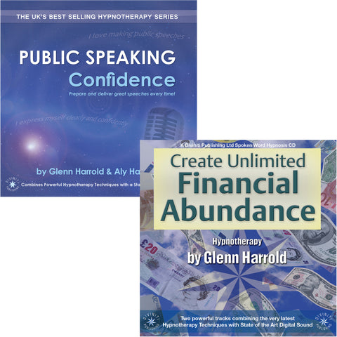 Public Speaking Confidence & Create Financial Abundance MP3s