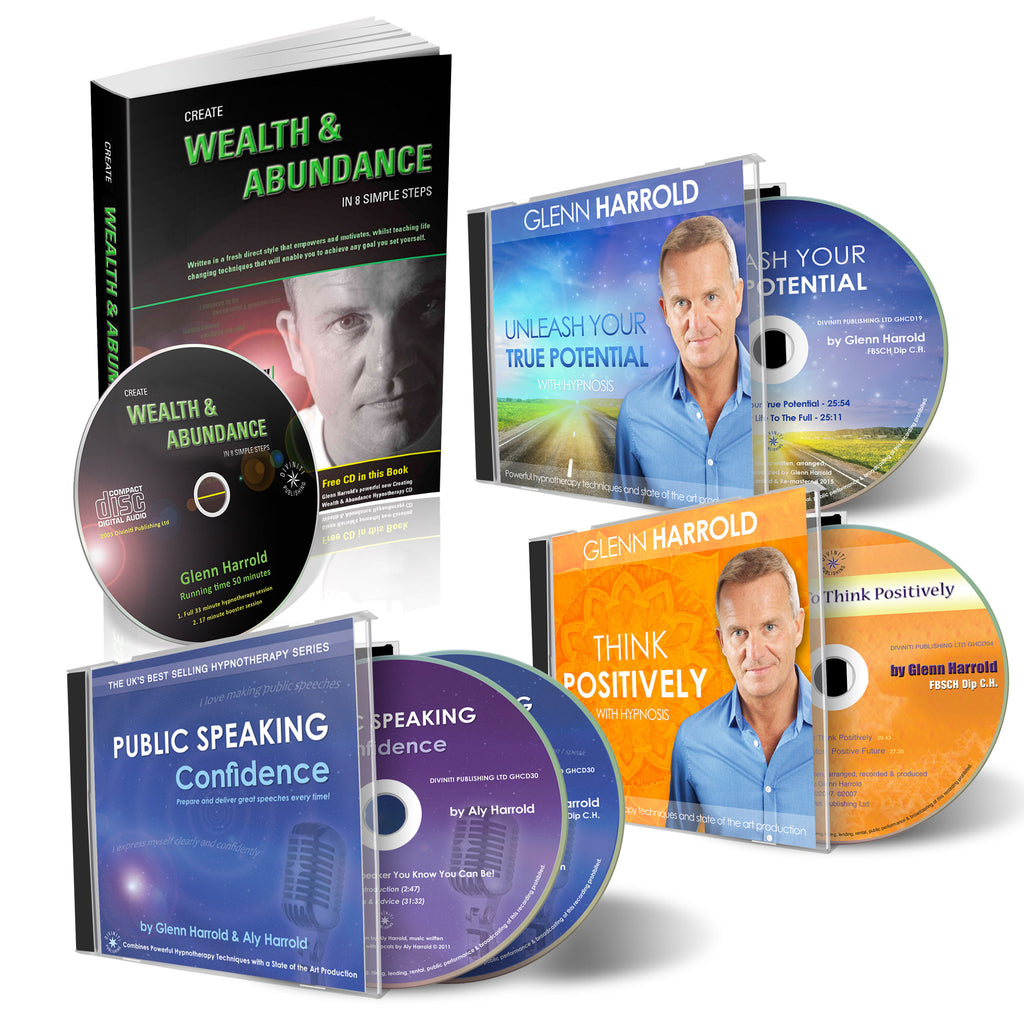 Public Speaking & Abundance - Book & CD Bundle