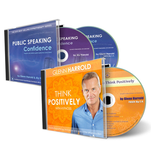 Public Speaking Confidence & Think Positively 2 CDs