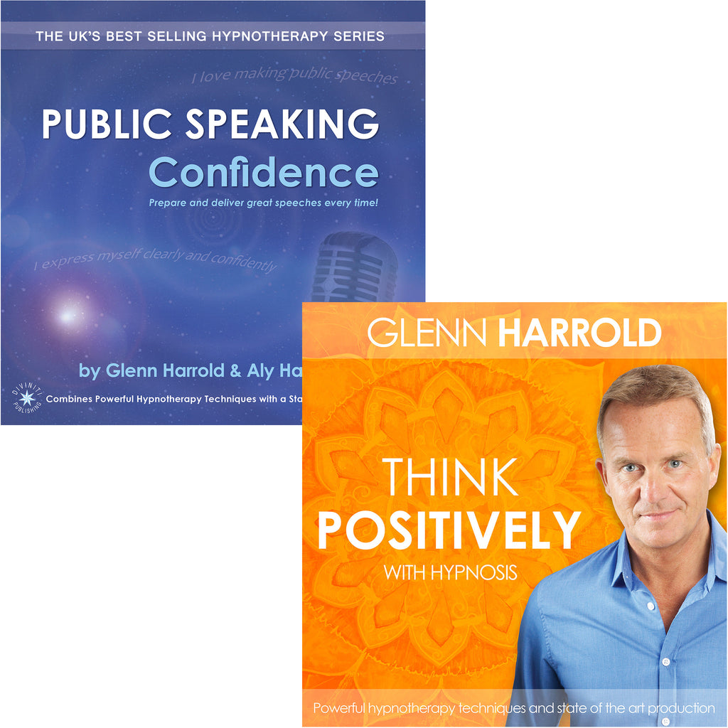 Public Speaking Confidence & Think Positively MP3s