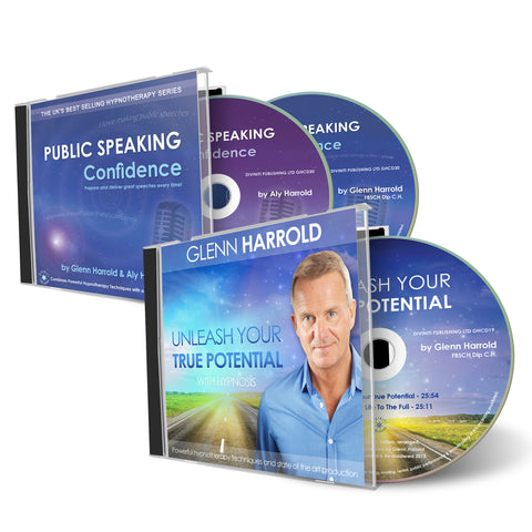 Public Speaking Confidence & Unleash Your Potential CDs