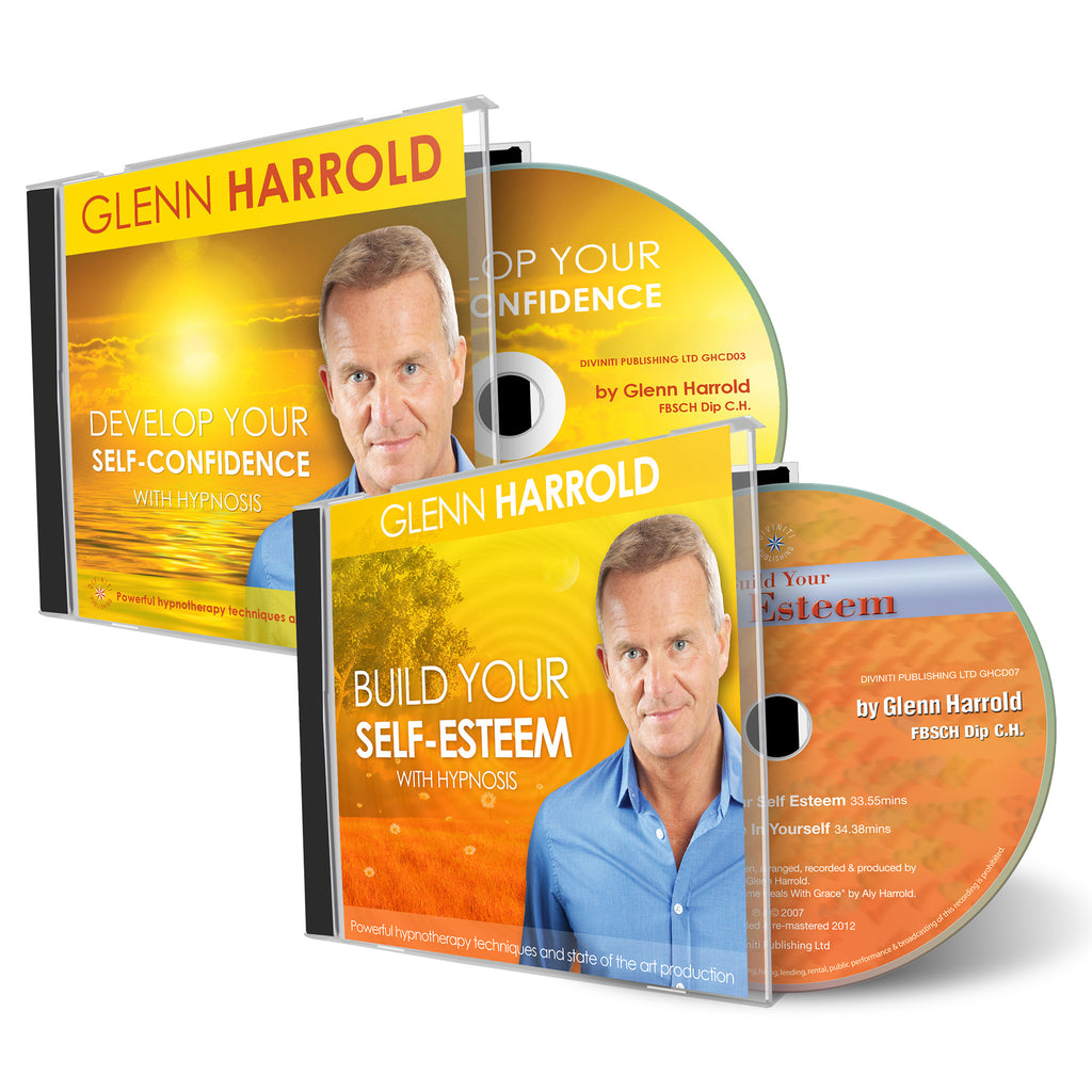 Build Self Esteem & Develop Your Self Confidence CDs