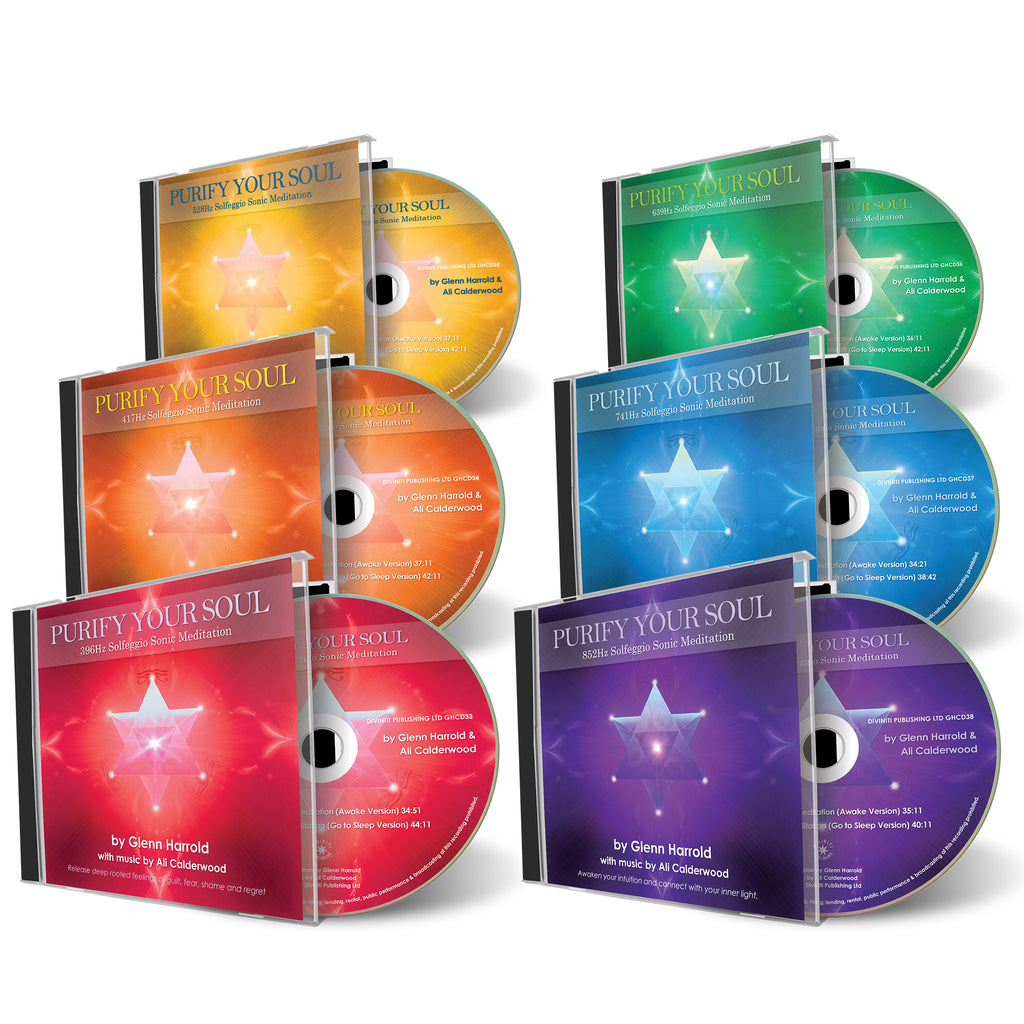 Solfeggio Sonic Meditation Bundle - 6 CDs