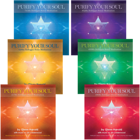 Solfeggio Sonic Meditation Bundle - 6 MP3s