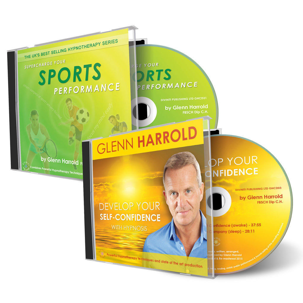 Sports Performance & Develop Your Self Confidence - 2 CDs