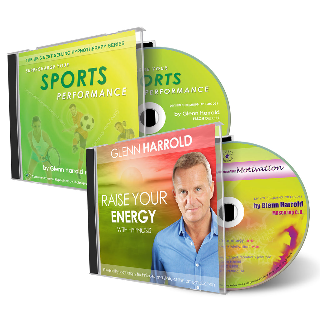 Sports Performance & Raise Your Energy and Motivation CDs