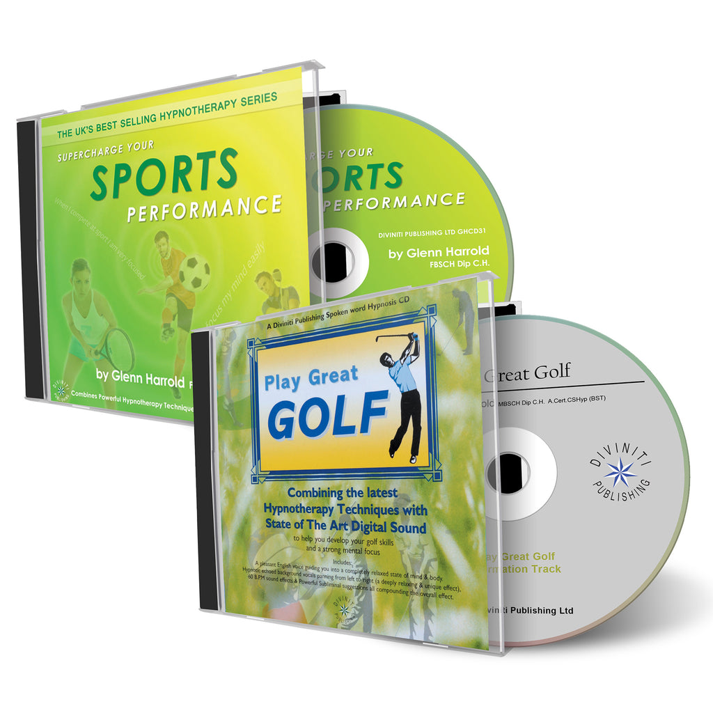 Play Great Golf & Sports Performance CDs