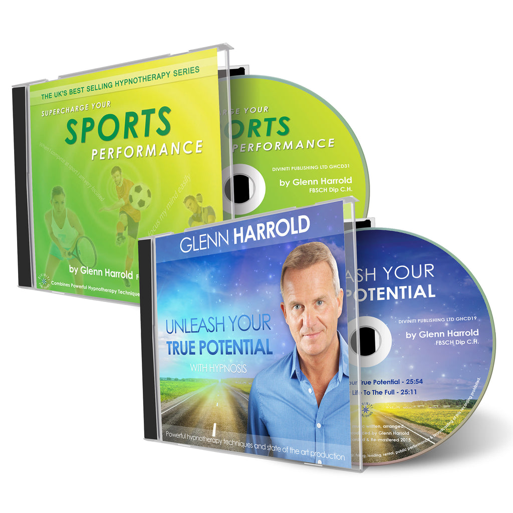 Sports Performance & Unleash Your True Potential CDs