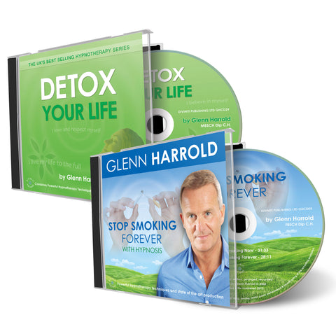 Stop Smoking Forever & Detox Your Life CDs