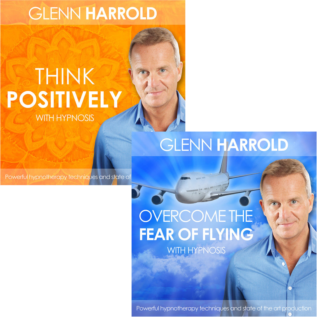 Overcome The Fear of Flying & Think Positively - 2 MP3s