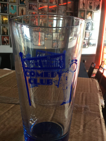 "Uncle Vinnie's Comedy Club Glass  ""Beer"" Cup"