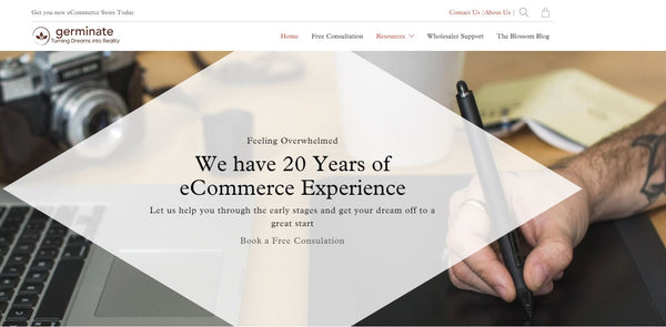 Germinate.com - Website E commerce Development and Set Up, Business Wholesaler Support