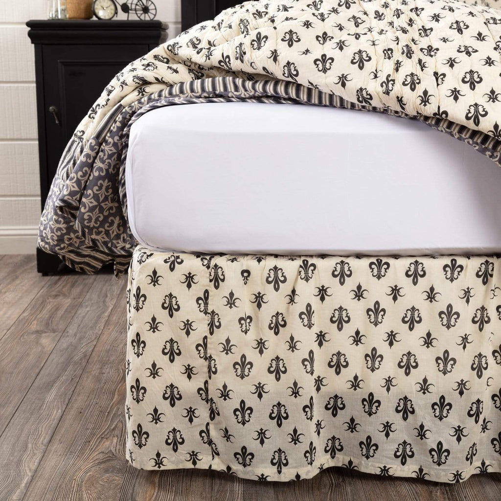 April & Olive Bed Skirt Elysee Twin Bed Skirt 39x76x16