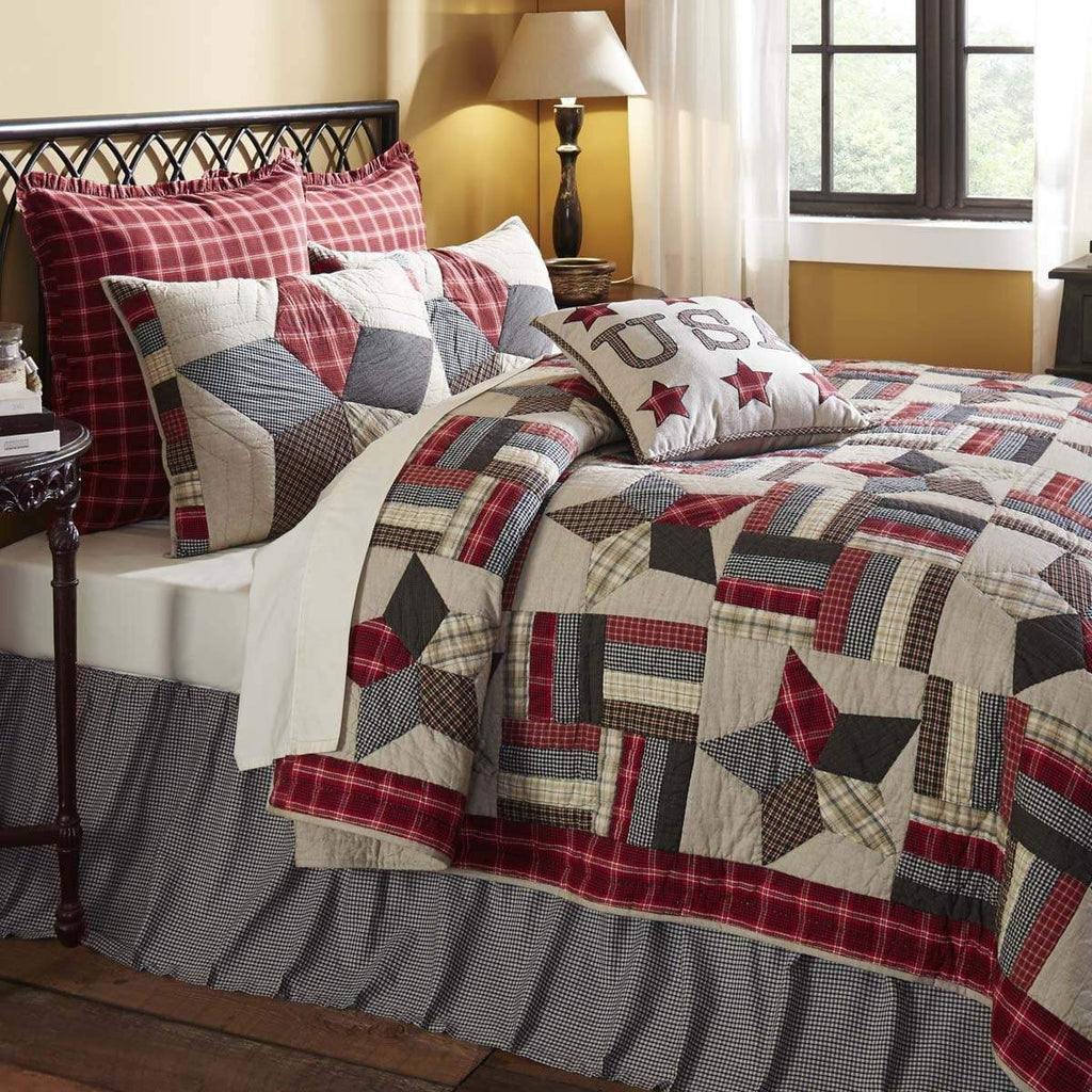 April & Olive Quilt Glory King Set; 1-Quilt 105Wx95L w/2 Shams 21x37