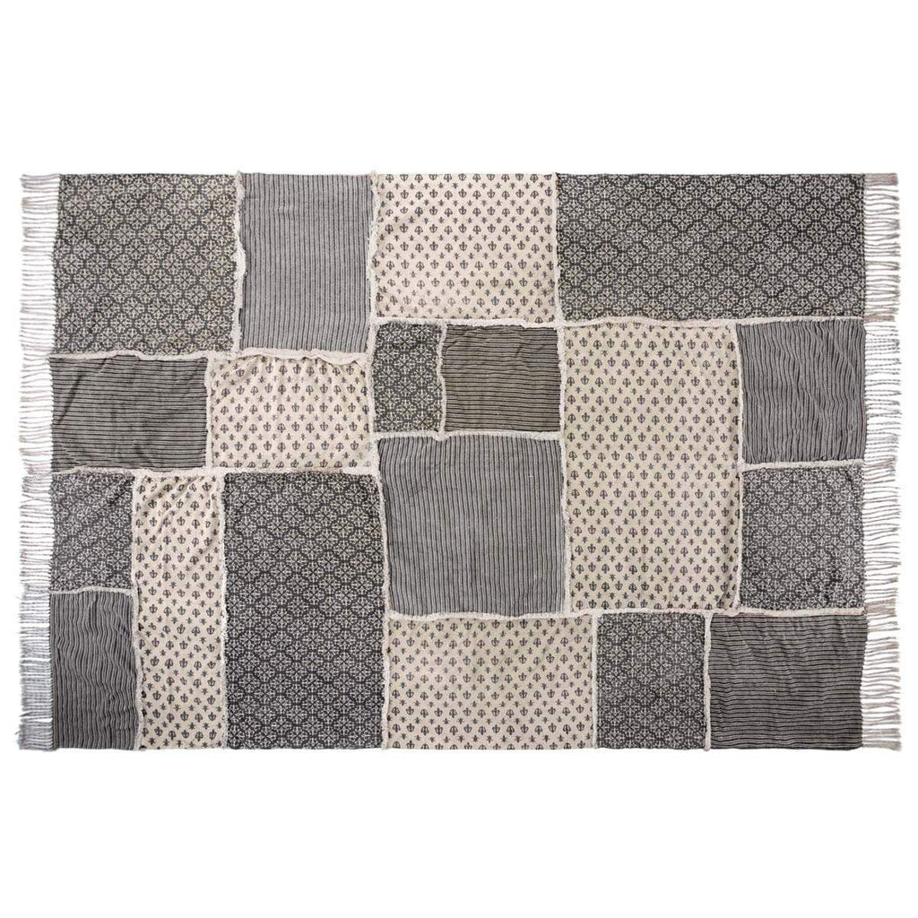 April & Olive Rug Elysee Patchwork Rug Rect 96x132