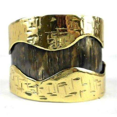 Brass Images (C) Brass Images Road Less Traveled Cuff - Brass Images (C)