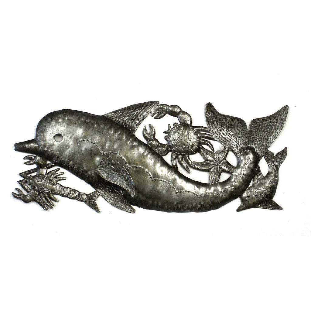 Croix des Bouquets Metal Wall Art Dolphin and Sealife Metal Wall Art - Croix des Bouquets