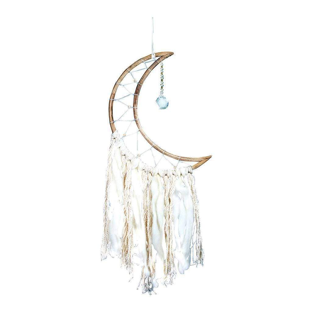 DZI (Meditation) Home Small Moon Dream Catcher - DZI (Meditation)