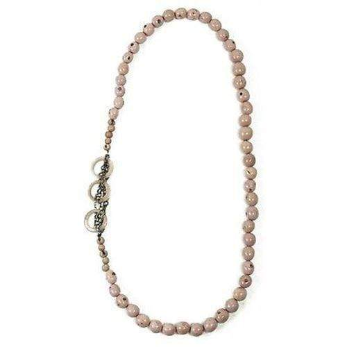 Faire Collection Faire Collection Circle Chain Necklace in Sugar Pink - Faire Collection